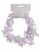 Forum Novelties 2.7m Mini Snowflake Wire Garland