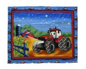 CaseIH Tractor Baby Quilt