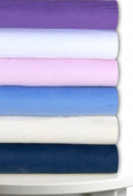 Magnolia Organics Fitted Fleece Crib Sheet - Standard, Baby Blue