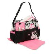 Baby Tote Bags Mummy Giraffe Zebra Pattern Nappy Care Storage Handbag
