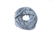 H2Baby Nursing Cover for Breastfeeding and Infinity Scarf 2-in-1, Grey