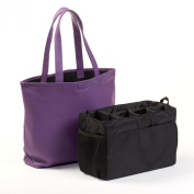 Downtown Nappy Bag - Full Grain Leather - Grape