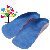 Security® Comfortable Orthotic Arch Insoles for High Arch Support, Heel Spur & Back Pain Relief Suitable for Kids