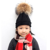 Tonsee Cute Baby Kids Girl Boy Warm Winter Knitted Cap Hat Beanie