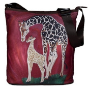 Large Cross Body Bag - Wearable Art, From My Original Paintings - Support Wildlife Conservation, Read How