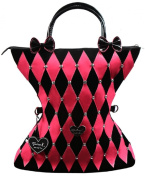 Madison K. Live Life Fun Large Pink Funky Shopper