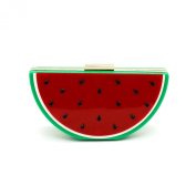 Kingluck Acrylic Watermelon Women Casual Pu Magnetic Evening Bag
