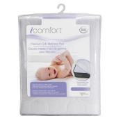 Serta Icomfort Premium Crib Mattress Pad, White