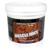 Ultimate Nutrition Muscle Juice 2544 Weight Gain Drink Mix, Chocolate, 4950ml Tub