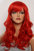 Epic Cosplay Hestia Apple Red Curly Wig 60cm