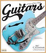 Guitars Wall Calendar 2017
