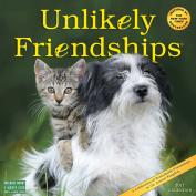 Unlikely Friendships Wall Calendar 2017
