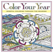 Color Your Year Wall Calendar 2017