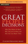 Great People Decisions [Audio]