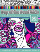 Coloring Books for Grownups Day of the Dead Girls