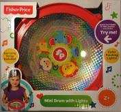 Fisher Price Mini Drum with Light Effects