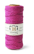 Hemptique HS20-DKPNK Hemp 9.1kg Cord Spool, Dark Pink, 60m
