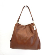 NEW Coach Madison Small Phoebe Chestnut Leather Shoulder Bag 26224 Retail