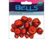 ASST BELLS RED 19PC (3 pack)