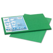 Tru-Ray Construction Paper, 34kg., 12 x 18, Holiday Green, 50 Sheets/Pack, Sold as 50 Sheet