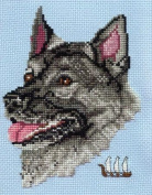 Pegasus Originals Norwegian Elkhound Counted Cross Stitch Chart Pack