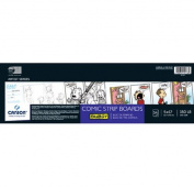 Fanboy comic Strip Boards 13cm . x 43cm . pad of 14