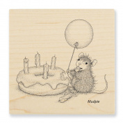 Stampendous Cling Birthday Donut Rubber Stamp