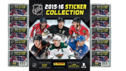 2015/16 Panini NHL Hockey Stickers Special Collectors Package with 10 Packs (70 Stickers) and 72 Page Collectors Album!
