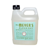Mrs. Meyer's Liquid Hand Soap Refill, Basil, 980ml