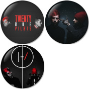 Twenty One Pilots : Blurryface Set 3 Pinback Buttons Badges/Pin 1.25 Inch (32mm) Set of 3 New