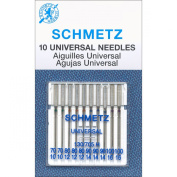 Euro-Notions Universal Machine Needles (10 Pack), Size 70/80/90/100