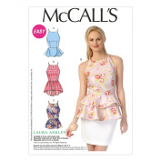 McCall's Patterns M7162 Misses' Tops Sewing Template, A5