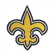 1 X New Orleans Saints Logo I Embroidered Iron Patches