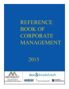 Dunn & Bradstreet Reference Book of Corporate Management 2015