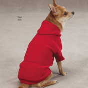 Pet Pals ZA6015 24 75 Casual Canine Basic Hoodie Xlg Pink