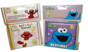 Sesame Street Bath Book Bundle - 2 Items