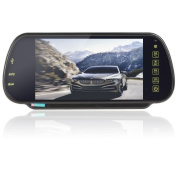 Us-vision 18cm TFT Colour LCD Bluetooth Mp5 Car Rearview Mirror Monitor Support Sd USB