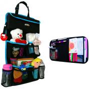 Backseat Car Organiser - Kids Toy Storage - Comes with Visor Organiser
