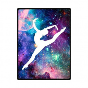Bright Gymnastic Dancing Star Soft Fleece Blankets and throws 150cm X 200cm (Large) Christmas gift