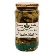 Fallot French Cornichons (Gherkins) Small Pickles 200ml (Drained) 350ml Jar