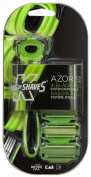 King of Shaves Azor SD 4-blade Razor with Disposable Refill Cartridges