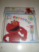 "Sesame Street Elmo's World ""Opposites"" Bath Time Bubble Book"