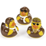 Gifts For Aviators Aviator Rubber Ducks - Set of 3