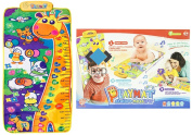 Baby Playmat - Play Gym - Activity Gym with stature measurer 120 cm