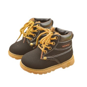 Baby Girls and Boys Lace Up Martin Snow Boots Winter Shoes