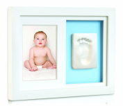 Tiny Ideas Baby's Print Wall Frame, White