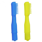 Ark Therapeutic Brush Tip Combo For The Z-Vibe For Sensory Toothbrushing And Gum Massage