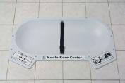 Koala Kare KB112-01RE Baby Changing Station, 80cm x 50cm Countertop Recess Mount - Grey
