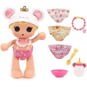 Lalaloopsy Babies Nappy Surprise Doll Set Cinder Slippers
