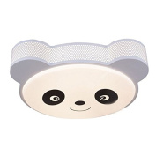 LED Cartoon Panda Children's Room Ceiling Lamp Creative Cute Baby Room Ceiling Light LED Kid's Bedroom Ceiling Fixtures